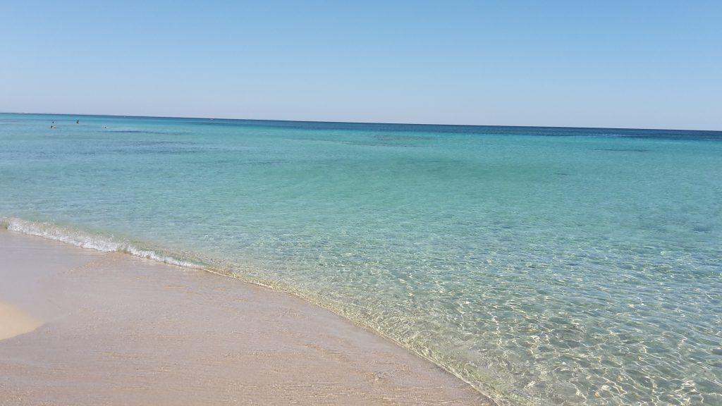 Spiaggia libera di San Pietro in Bevagna sul Mar Ionio- Salento