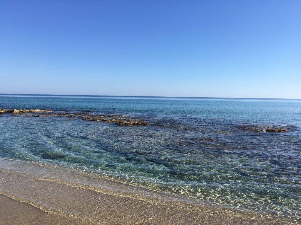 Spiaggia libera sul Mar Ionio a Campomarino di Maruggio - Salento