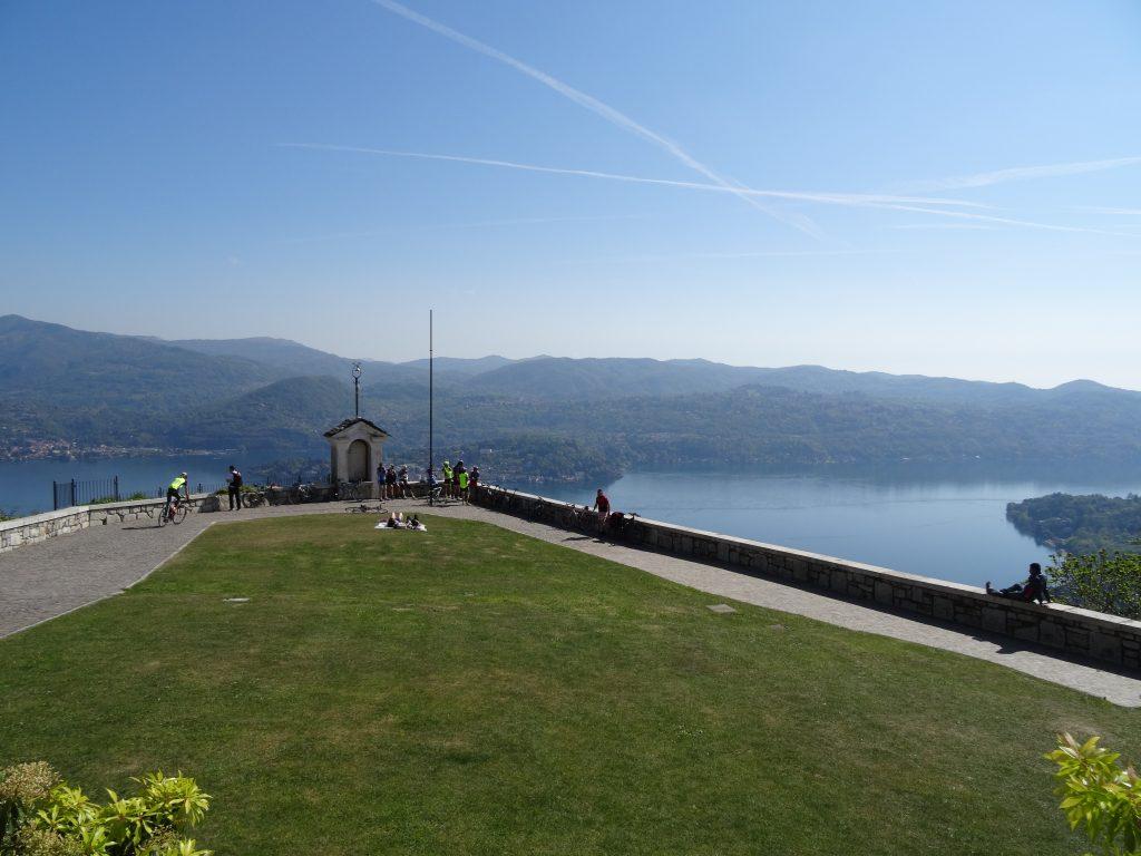 Vista Lago d'Orta dal Santuario della Madonna del Sasso